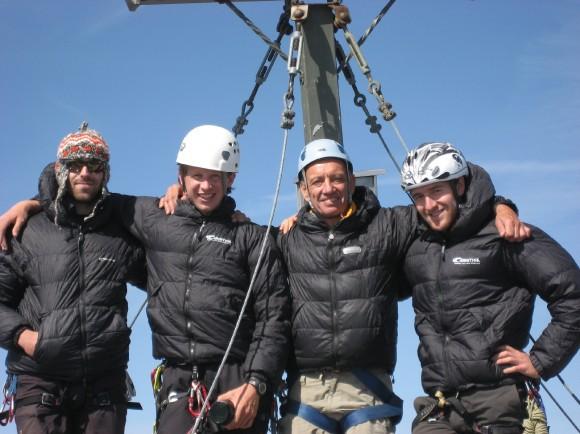Am Gipfel....  (An dieser Stelle wieder einmal ein herzliches Dankeschön an CARINTHIA)