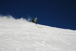 Traumwetter auf der Fünften Hornspitze