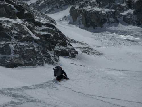 Louis at Japaneese Couloir