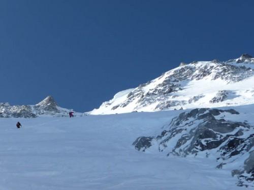 Hans and Louis at 7700m